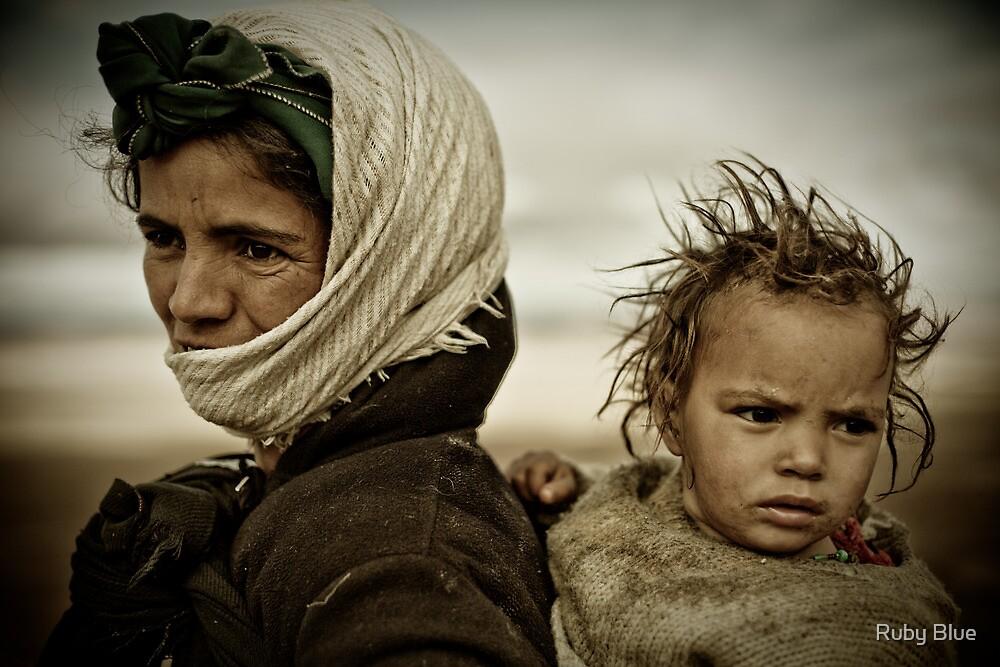 Nomads of High Atlas Mountains by Alina Uritskaya