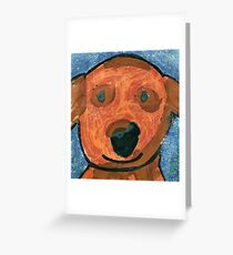 Happy Puppy! Greeting Card
