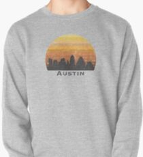 Austin Skyline (distressed) Pullover Sweatshirt