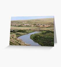 Writing-on-Stone Provincial Park (Áísínai'pi) Greeting Card