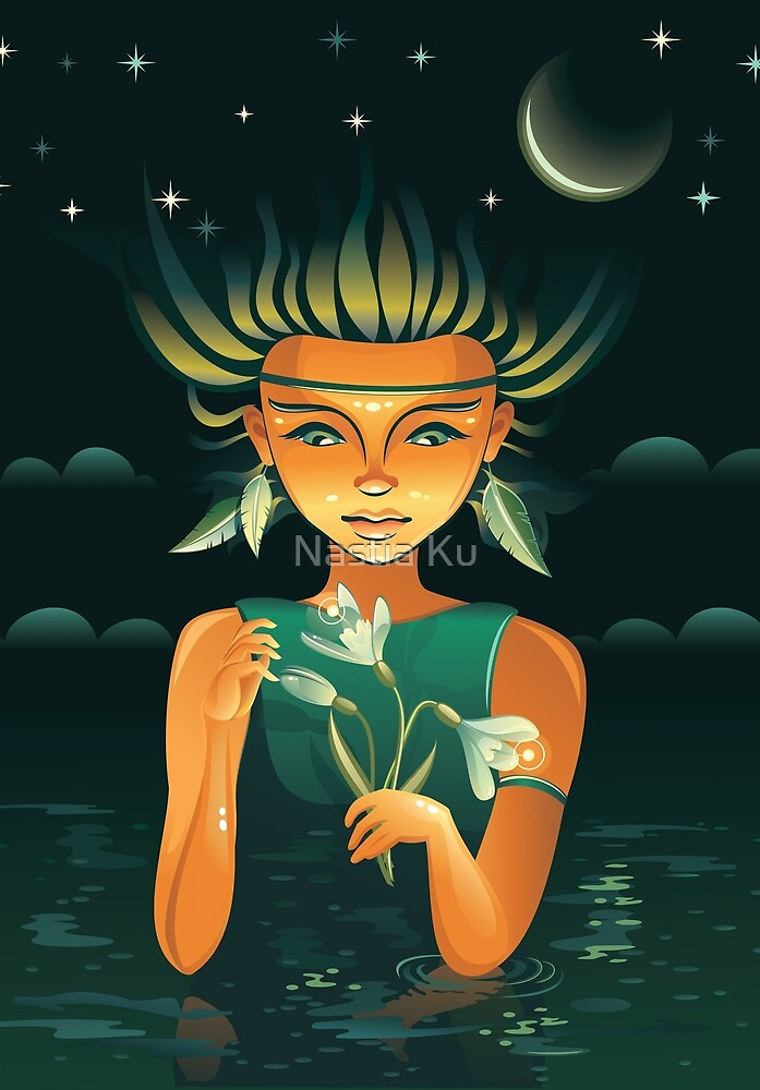 Shaman girl by ychty
