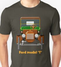 1908 Cabriolet Ford Model T  Unisex T-Shirt