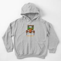 1908 Cabriolet Ford Model T  Kids Pullover Hoodie