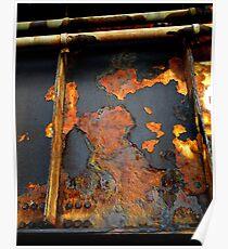 """Amtrak Trestle Rust"" Poster"