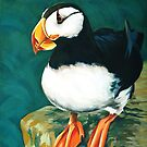 Horned Puffin by roxygen