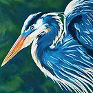 Great Blue Heron by roxygen