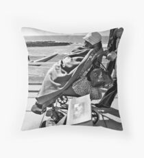 Beauty in Photography, Aberystwyth Prom Throw Pillow