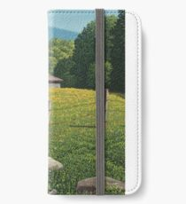 Barn on Elder Hill- Lincoln Vermont iPhone Wallet/Case/Skin