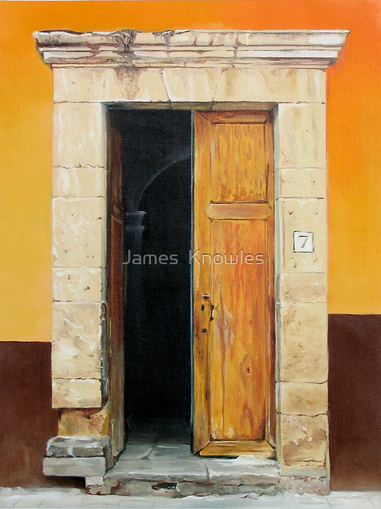 Quot Quot Numero Siete Quot Oil Painting Of An Old Mexican Door Quot By