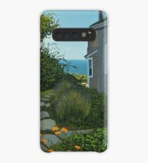 """The Cottage"" oil painting by Reed A Prescott III Case/Skin for Samsung Galaxy"