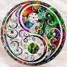 Zen Bliss Yin and Yang by Robert Erod Poster or Print by Robert  Erod