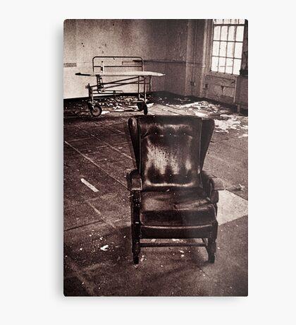Take a seat and we'll talk Metal Print
