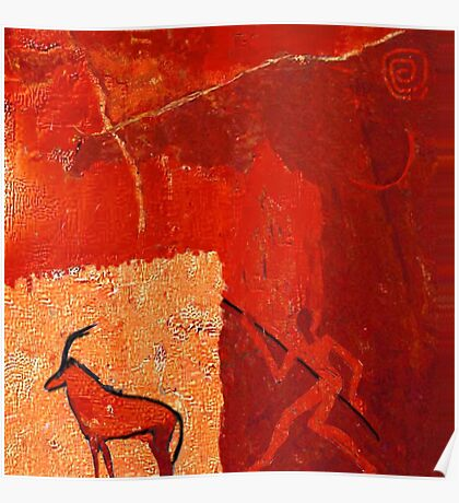Hunting 2 - rock paintings 2001 Poster