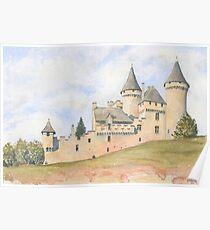 Château Puymartin, France Poster