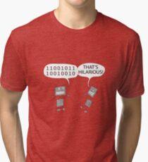 Jokes in binary Tri-blend T-Shirt