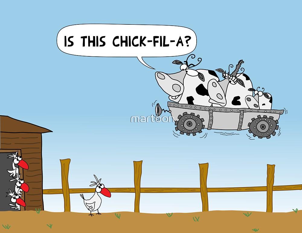 Chick-fil-A by martoon