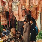 Moroccan souk by indiafrank