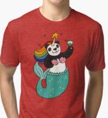 Panda of awesomeness Tri-blend T-Shirt