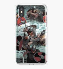 Vikings wading iPhone Case