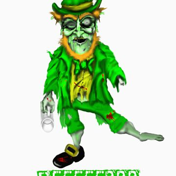 Leprechaun Zombie by ywill