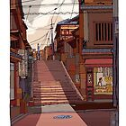 autumn steps by David  Kennett