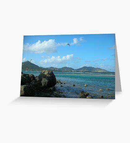 Orient Bay - Saint Martin  Greeting Card