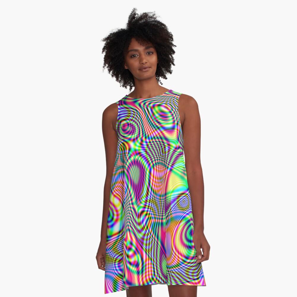 Abstraction #E A-Line Dress
