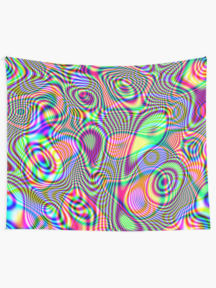 Alternate view of Abstraction #E Wall Tapestry