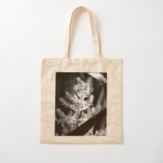 In the shadows #2 Cotton Tote Bag