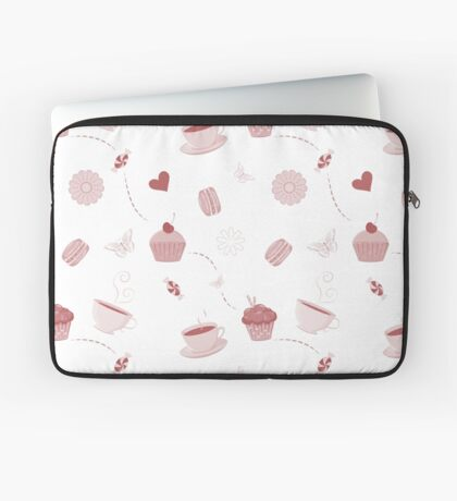 Teacups and sweets Laptop Sleeve