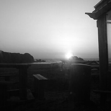 Perranporth Sunset by wannabewriter81