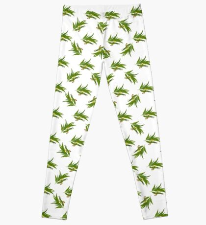 Eucalyptus pattern Leggings
