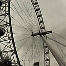 London Eye by Mahjabeen Mankani