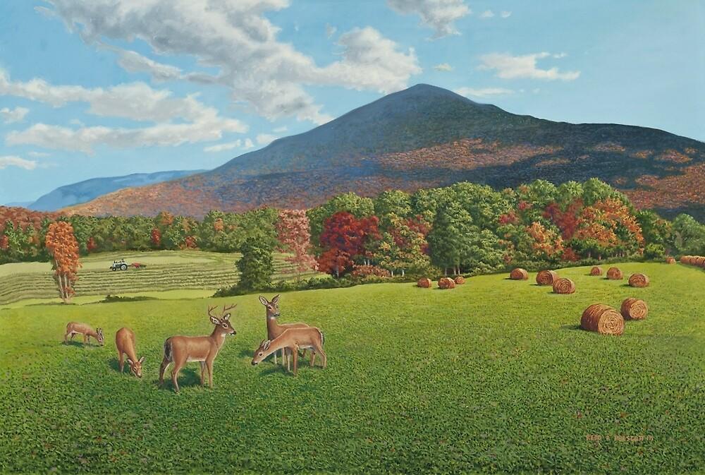 """Sumner Meadow"" oil painting by Reed Prescott by Reed Prescott"
