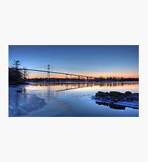 Thousand Islands Sunrise Photographic Print