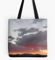 Sunset Over Klamath Falls Tote Bag