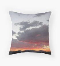 Sunset Over Klamath Falls Throw Pillow