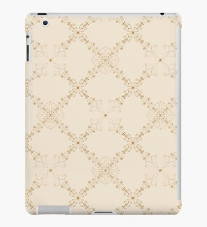 Classic and elegant floral pattern  iPad Case/Skin