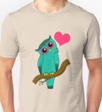 Starry Owl Unisex T-Shirt