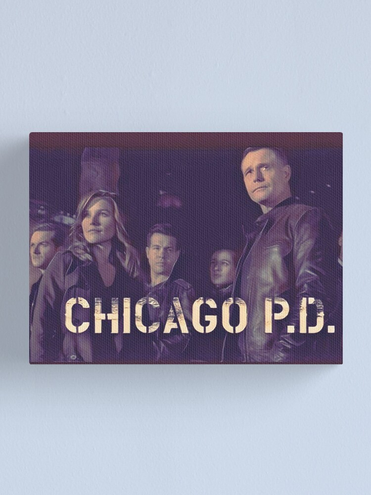 Alternate view of CHICAGO PD Canvas Print