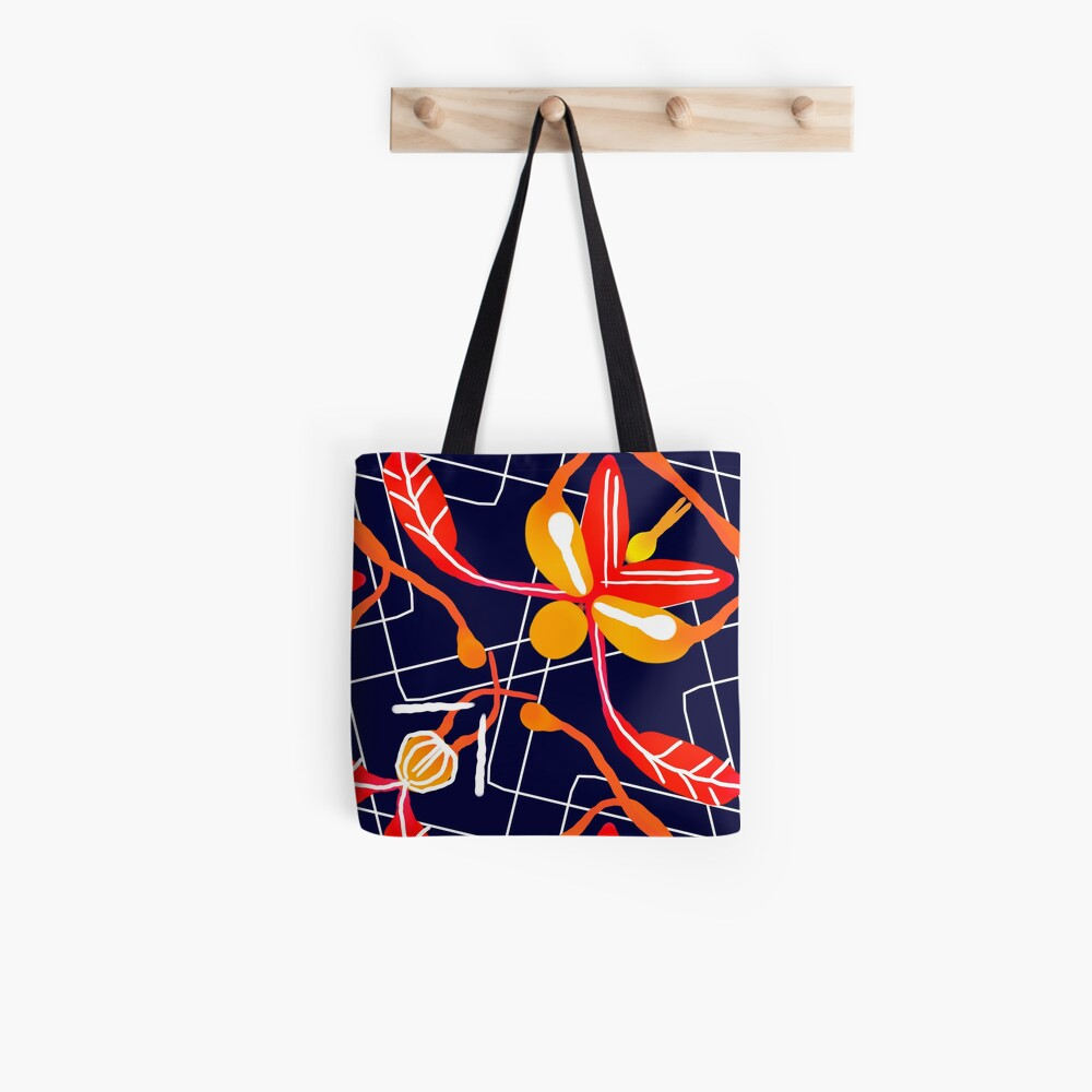 Sunset orchid Tote Bag