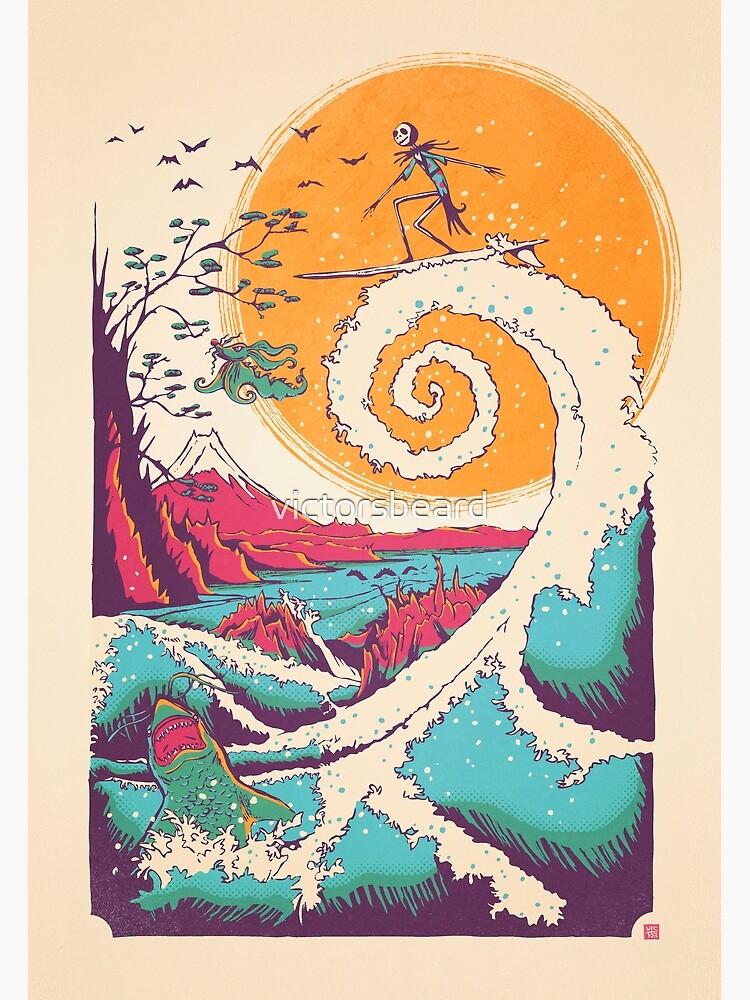 Surf Before Christmas by victorsbeard