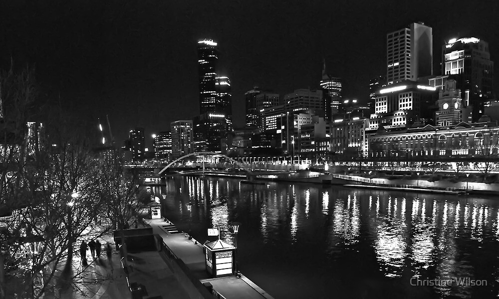 South Bank , Melbourne   by Christine Wilson