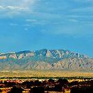 Sandia Mountains by F.  Kevin  Wynkoop