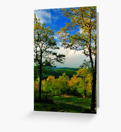 As Evening Approached ...  Greeting Card