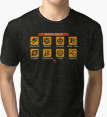 Gran Turismo 2 Tune Menu Tri-blend T-Shirt