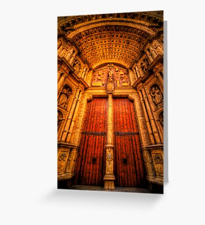Imposing Thresholds Greeting Card