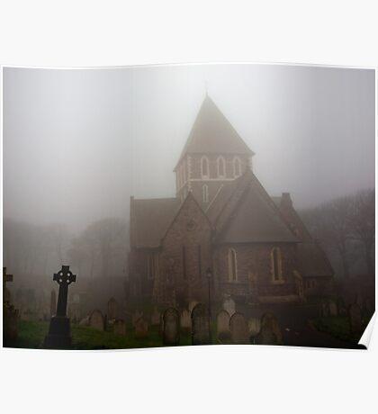 Fog in the Graveyard Poster