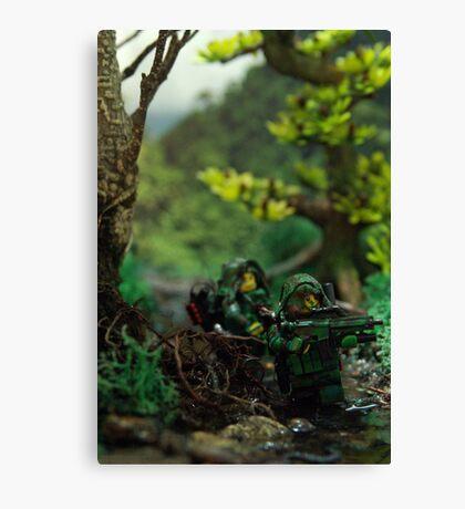 Lego jungle spec op Canvas Print