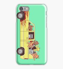 Cat wagon iPhone Case/Skin